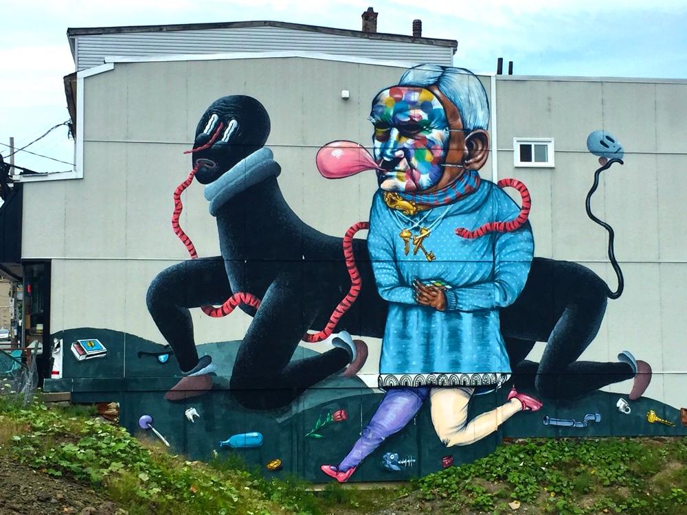 weird gottigen street street art graffiti