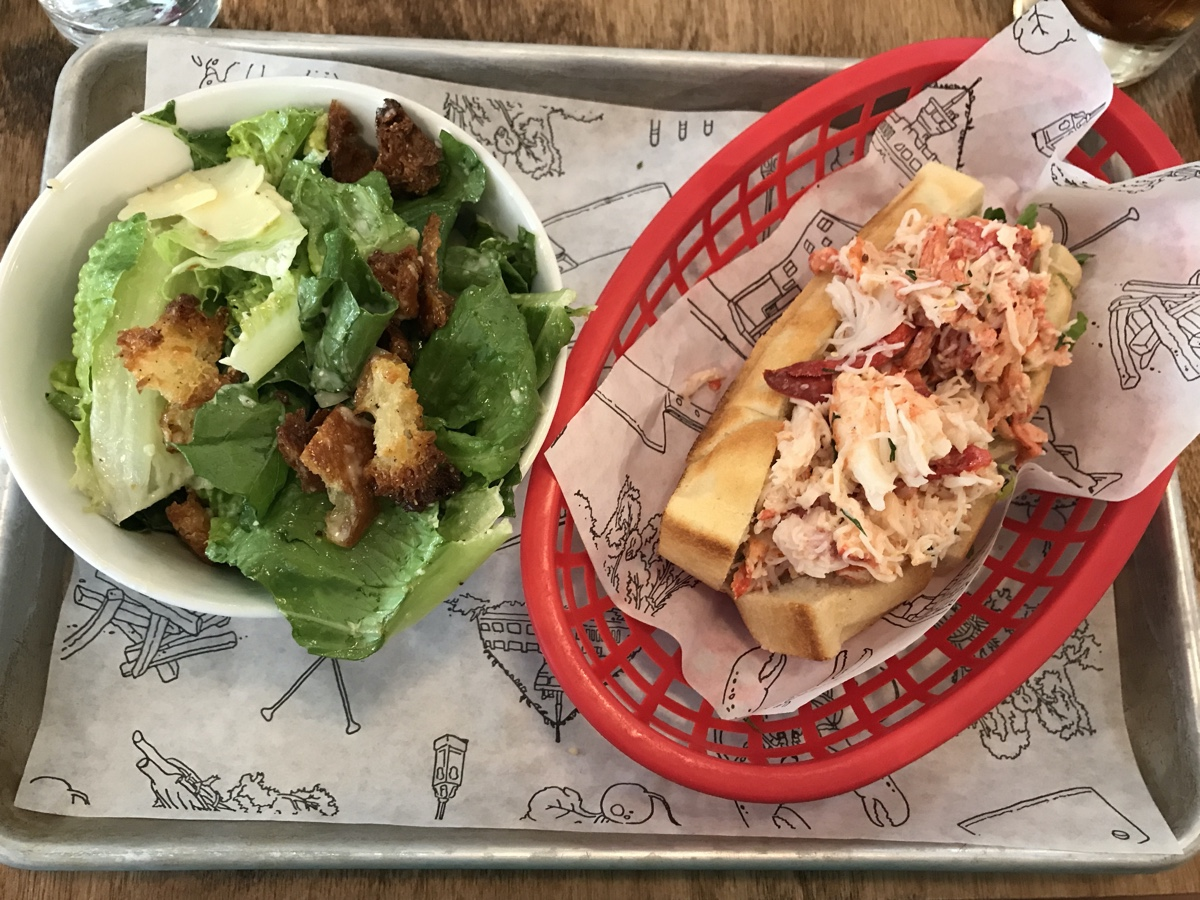 lobster roll from the canteen in Dartmouth Best Instagram Spots in Halifax