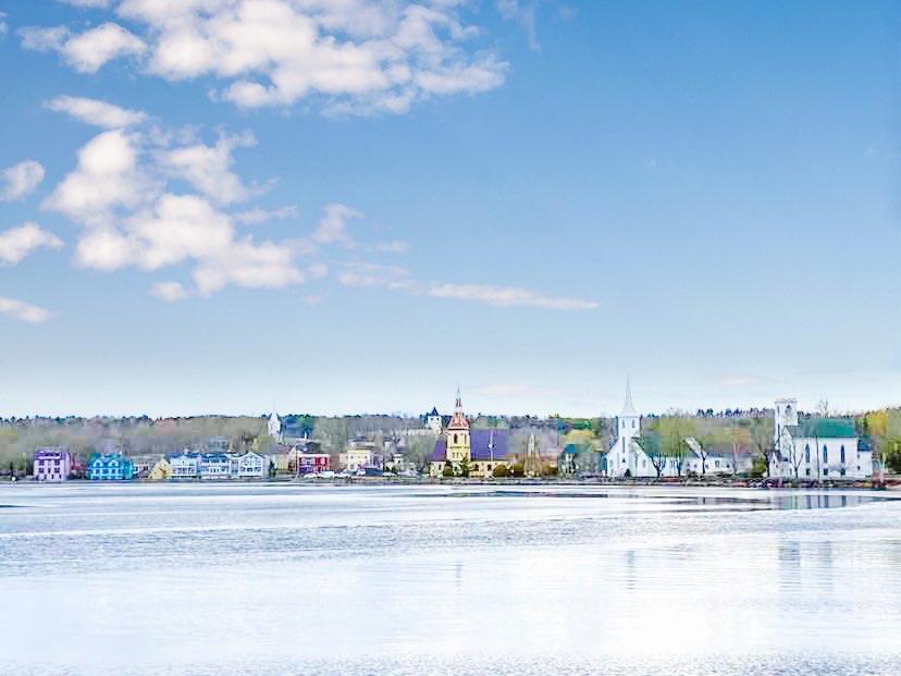 Mahone Bay Nova Scotia road trip