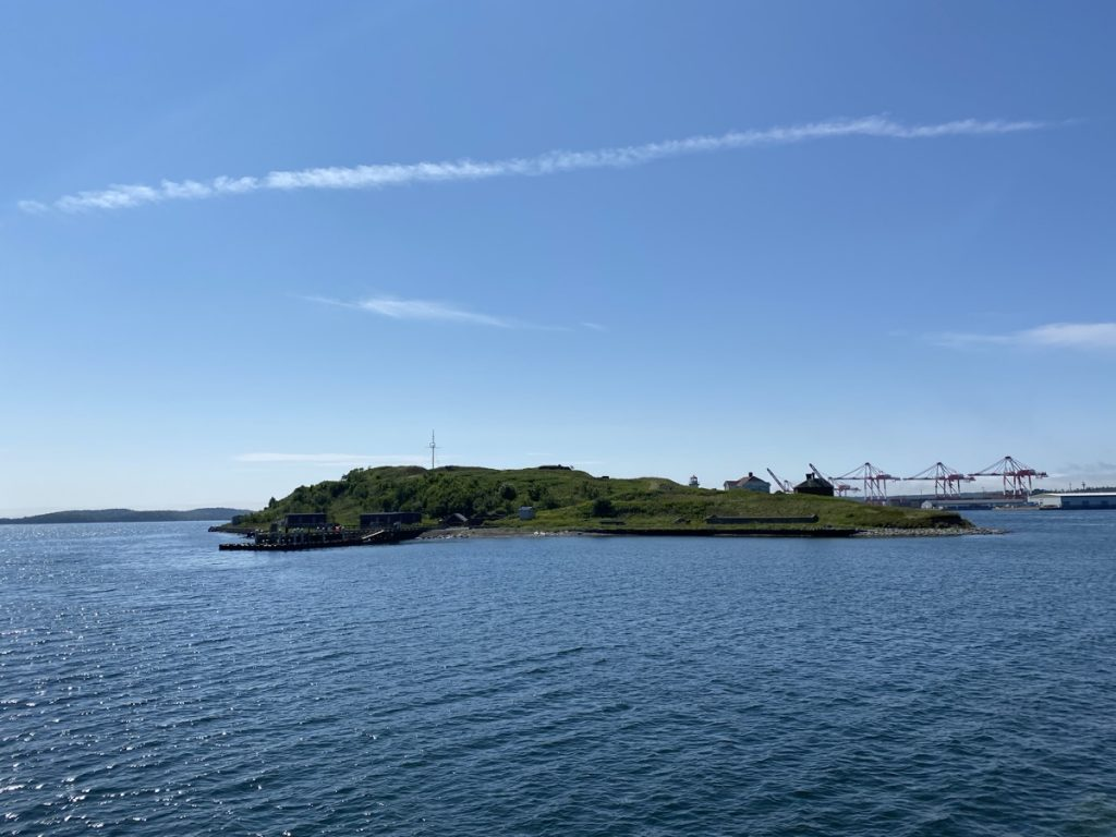 George's island in the Halifax harbour