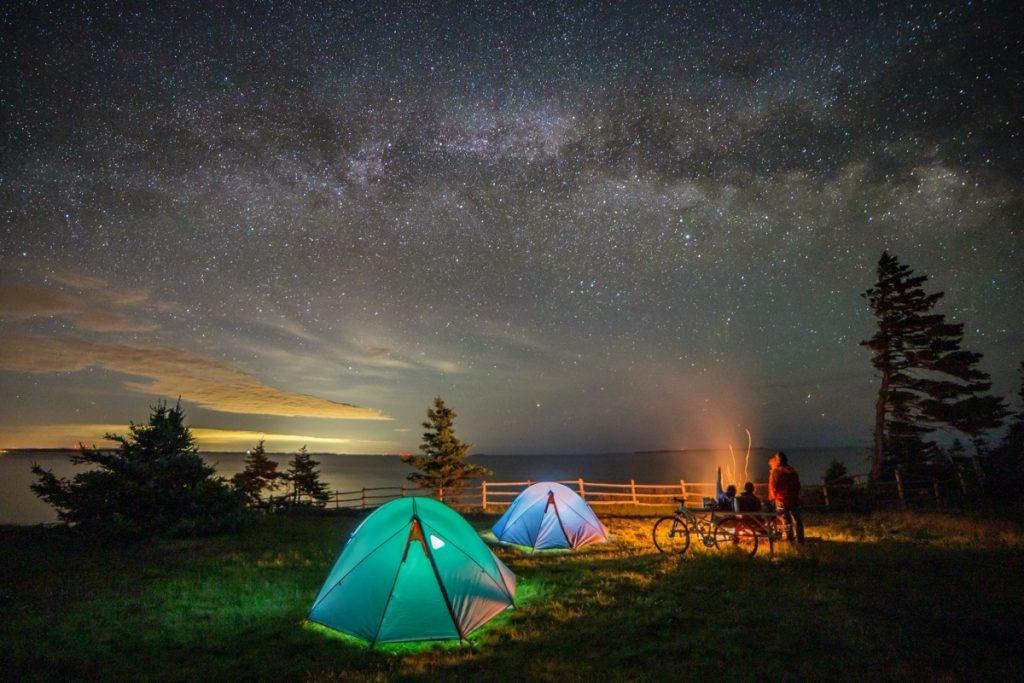 camping at the ovens park in nova scotia campgrounds Tourism Nova Scotia Photographer- Acorn Art Photography