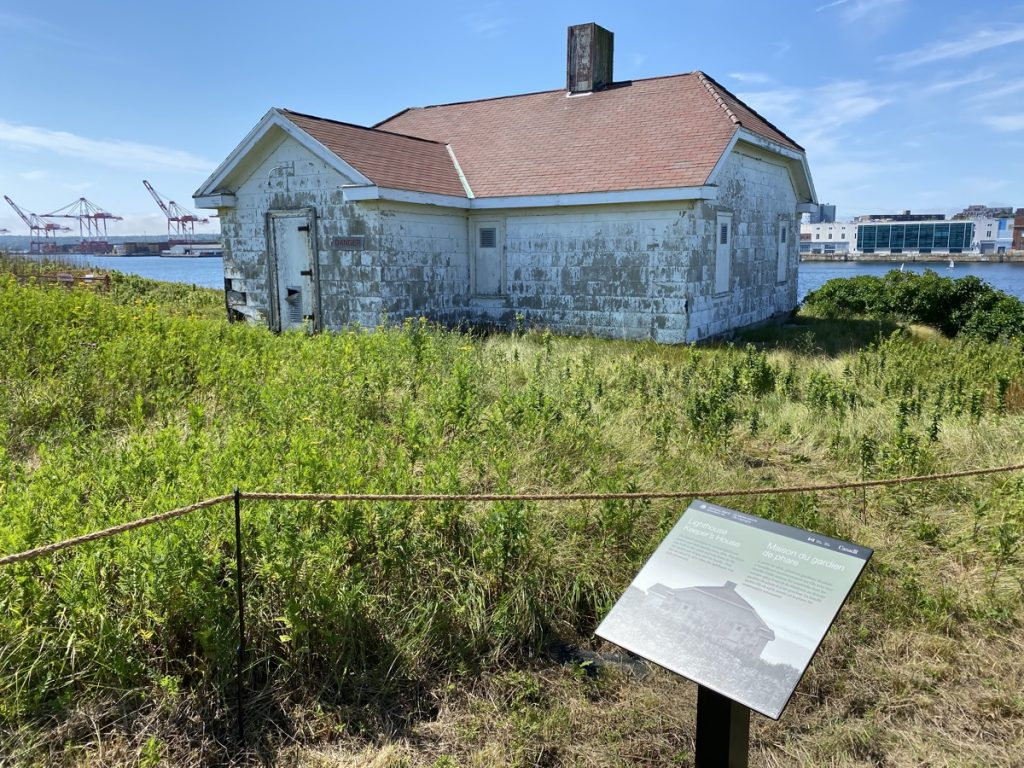the lighthouse keepers house