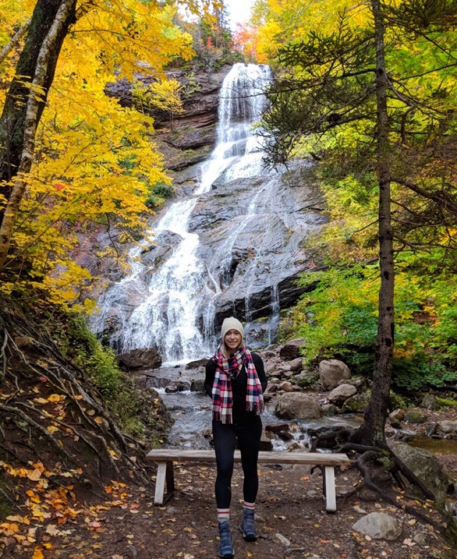 Beulach Ban Falls nova scotia waterfalls image credit laura hawkins