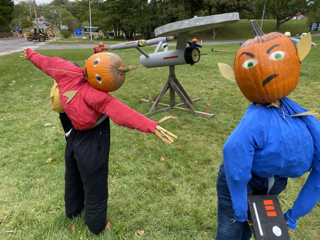kentville pumpkin people star trek with spock in the annapolis valley