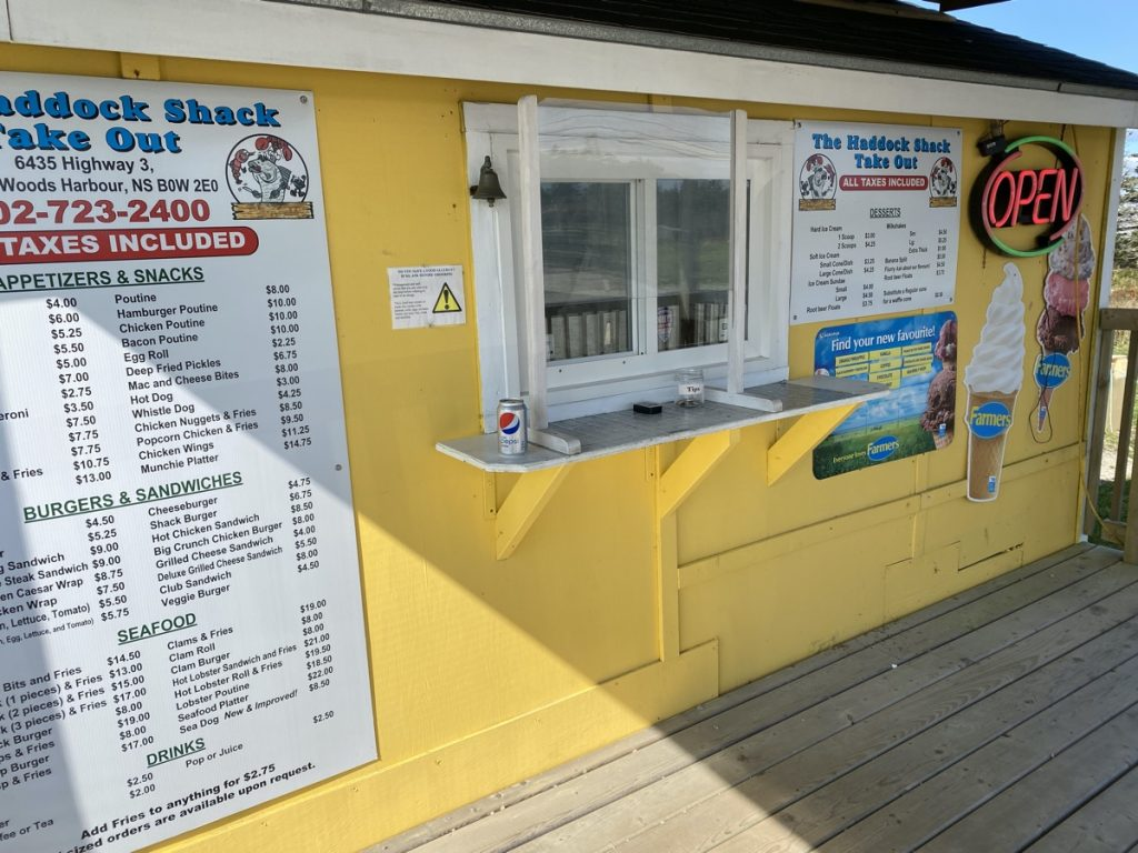 the haddock shack barrington nova scotia shelburne county