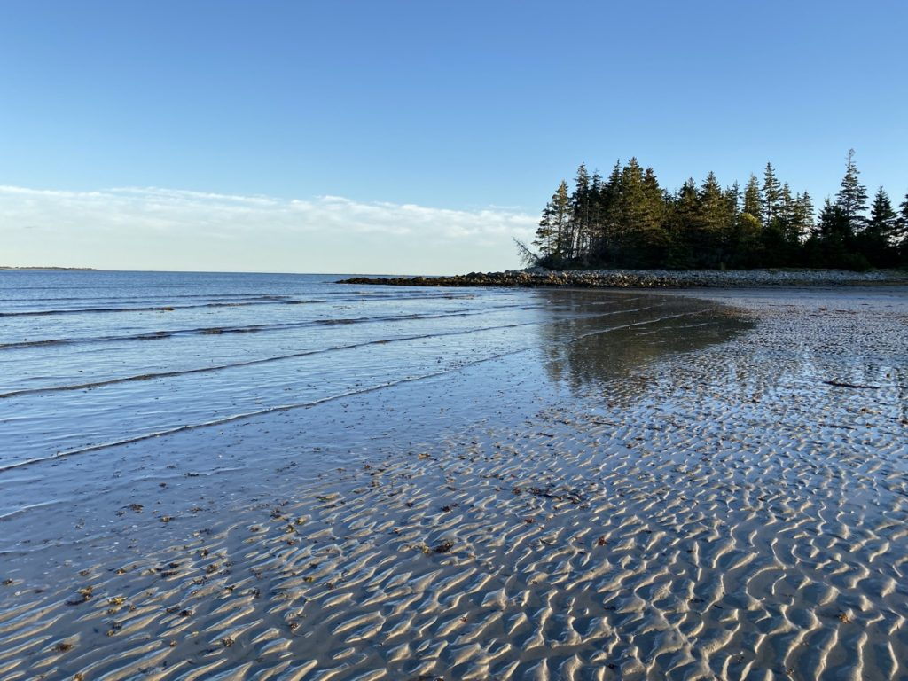 Louis Head beach in Shelburne county Nova Scotia