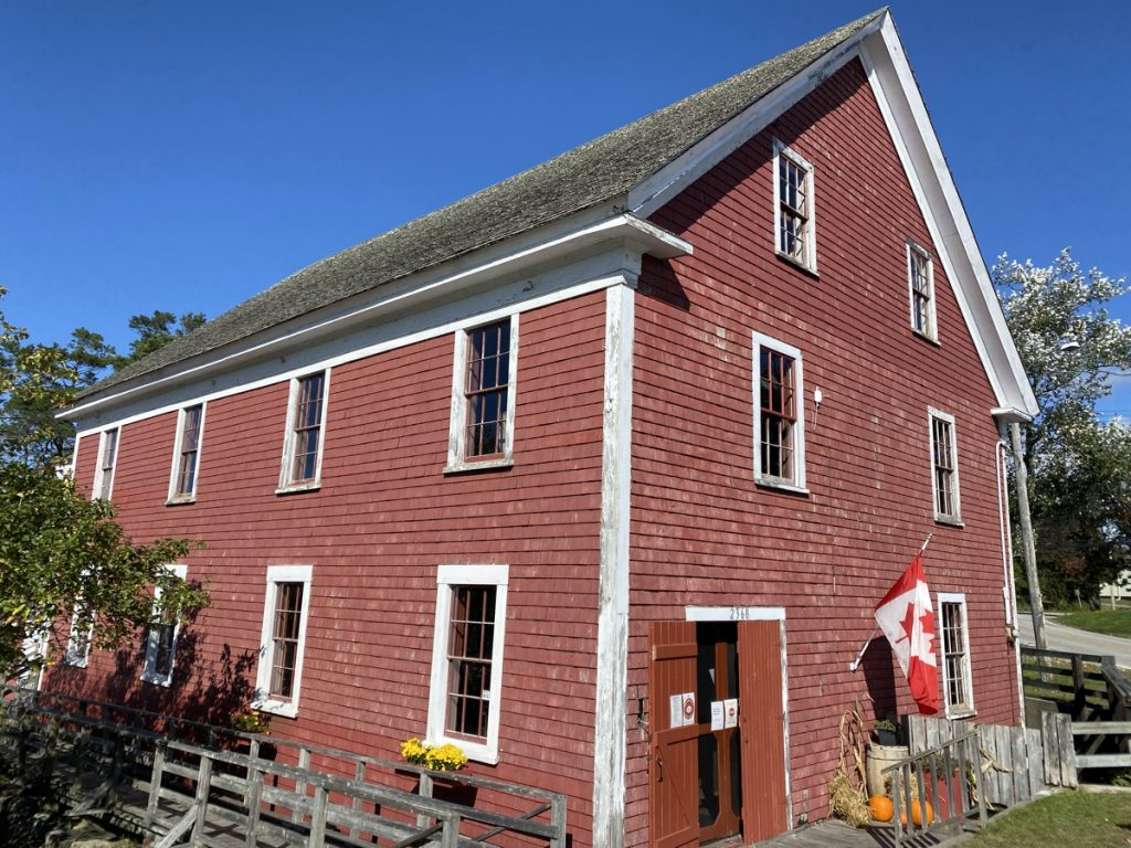Barrington Woolen Mill Museum shelburne county nova scotia