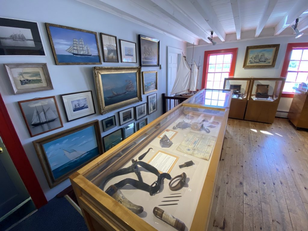 Shelburne County Museum artifacts boat models and displays