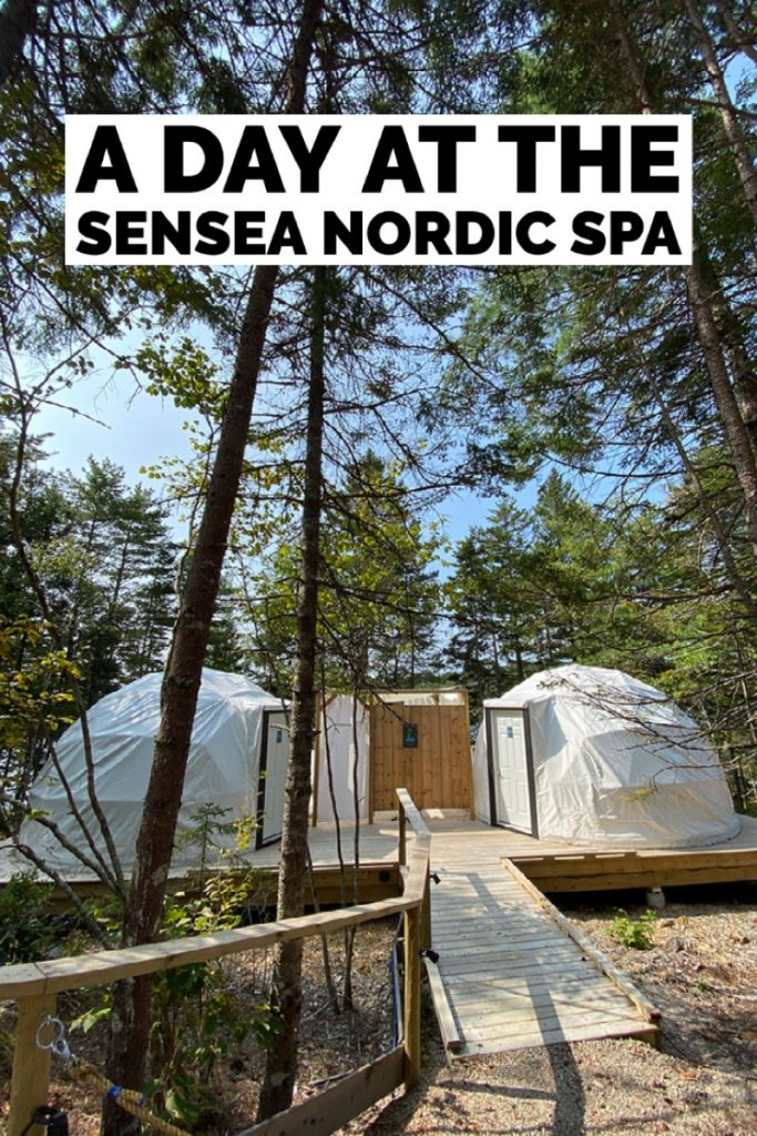 a day at the sensea nordic spa pin