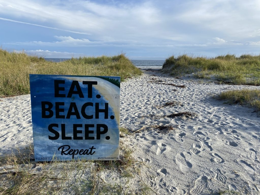 eat beach sleep stoney island beach barrington nova scotia