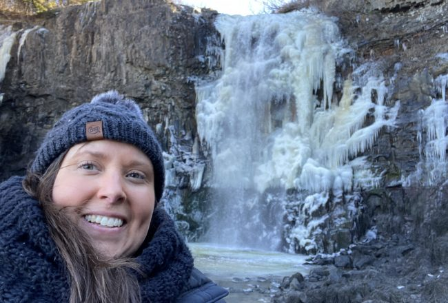 exploring nova scotia in winter with Cailin ONeil of Nova Scotia Explorer