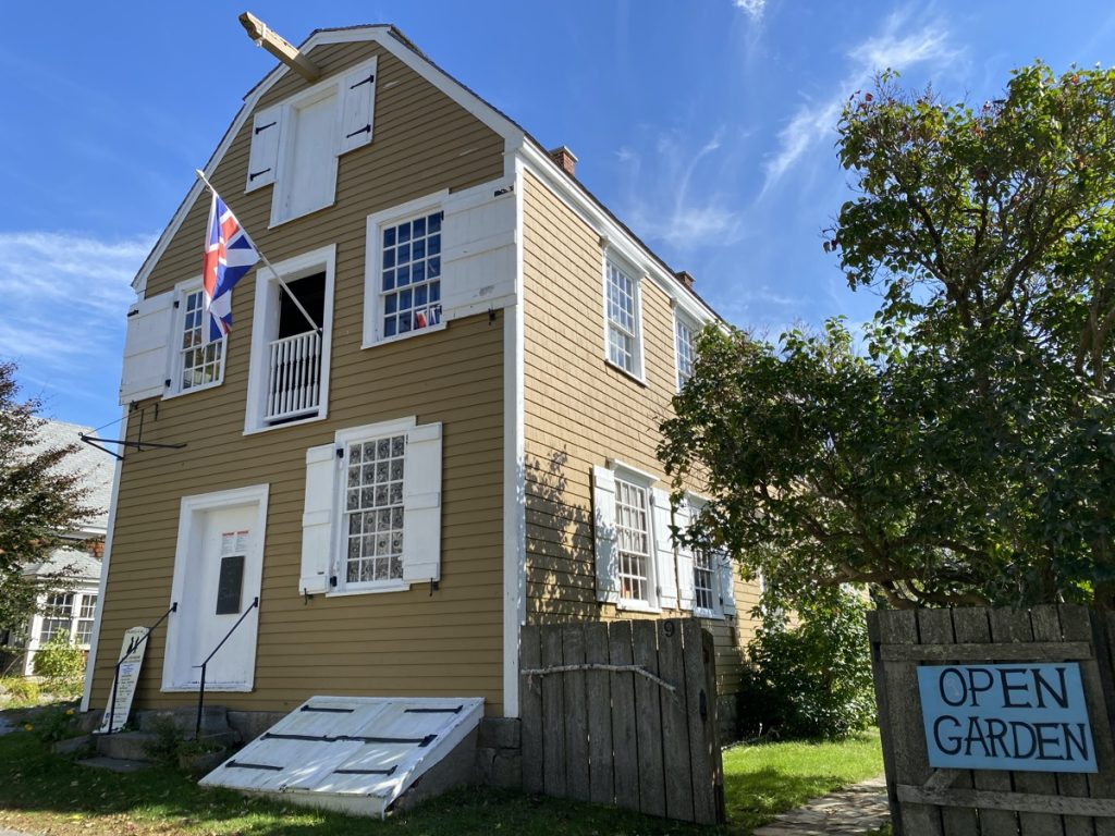 step back in time at the Ross Thomson House in shelburne nova scotia