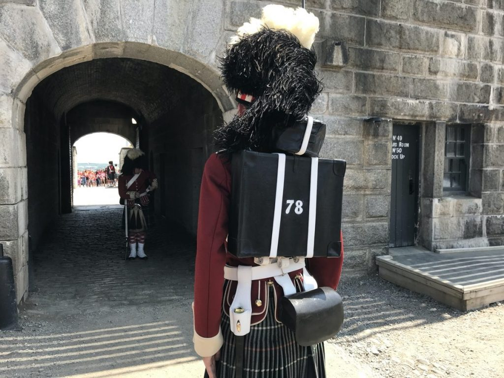 learn to fire a rifle and be a soldier for a day with the 78th (Highlanders) Regiment of Foot at the halifax citadel