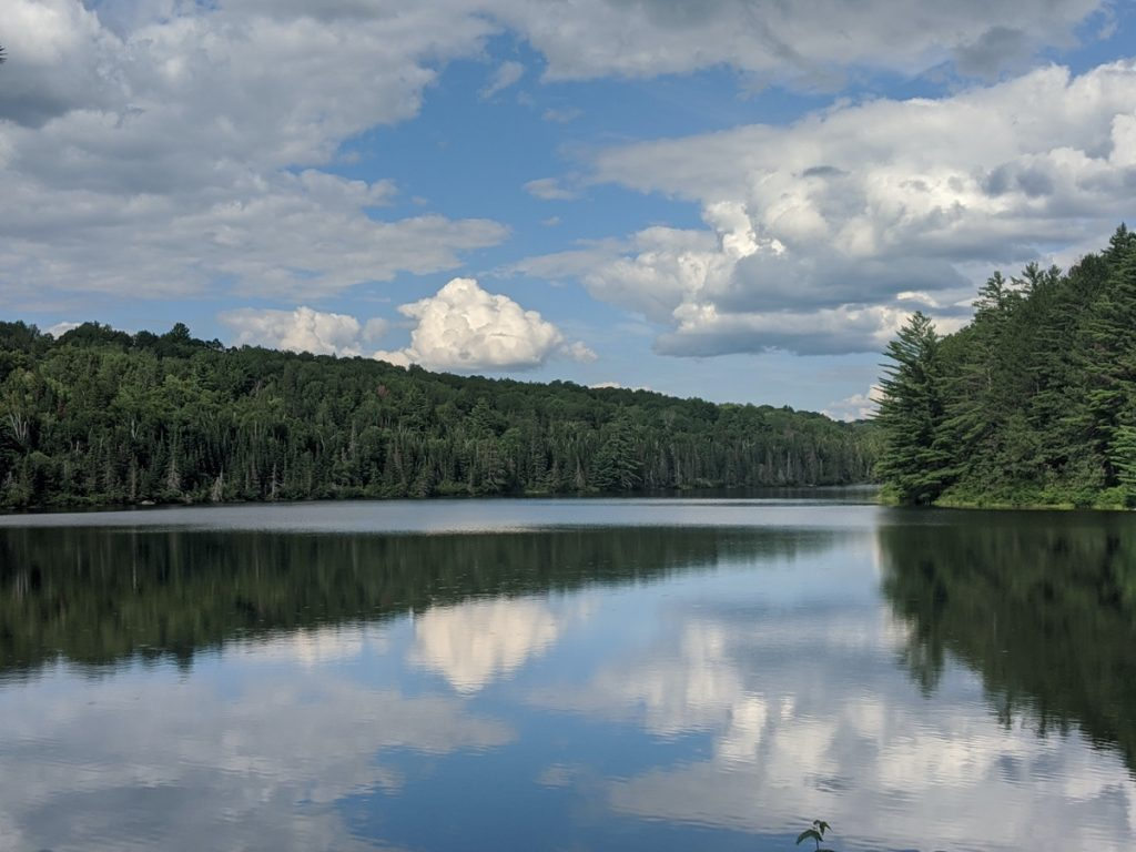 Achray Lake_AlgonquinPark best campgrounds in canada image credit Erin at Pina Travels