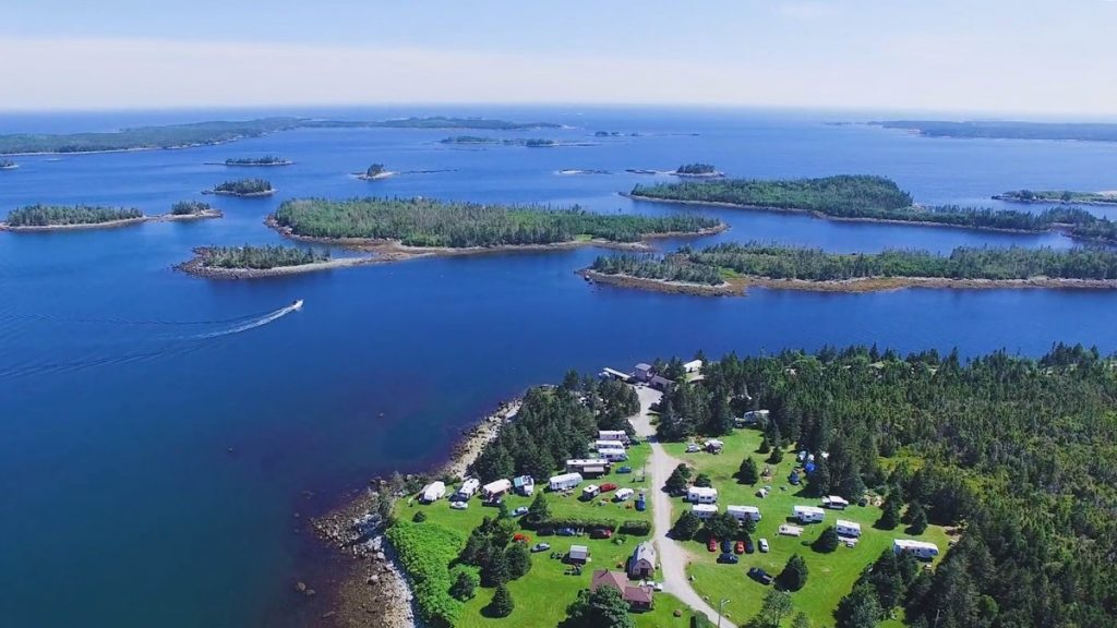 Murphys Camping on the Ocean campground in eastern shore nova scotia