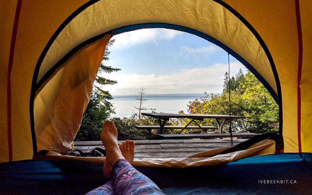 IveBeenBit-Flowerpot-Island-Camping