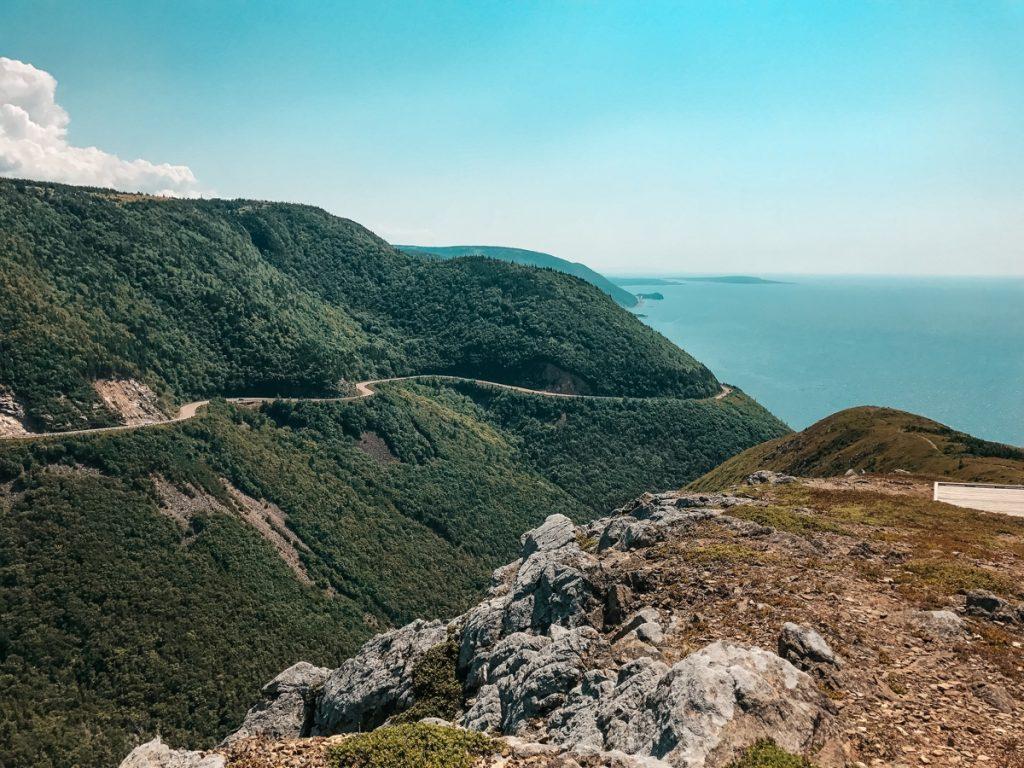 Cabot Trail - Cape Breton Skyline trail view