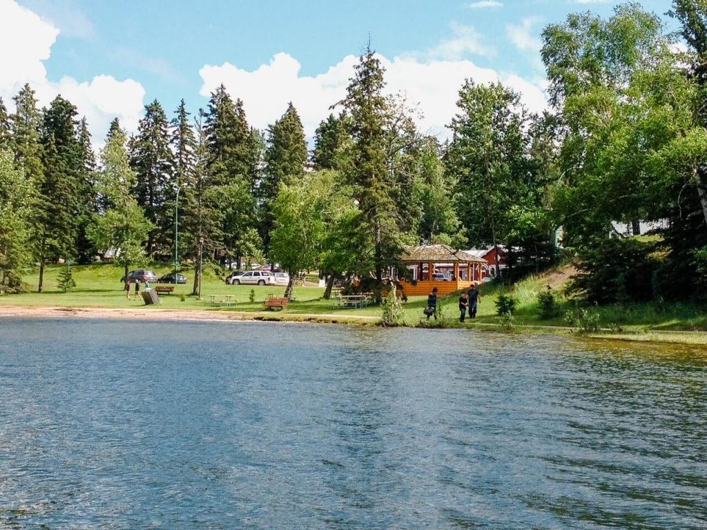 Wasksiu Lake Prince Albert NP