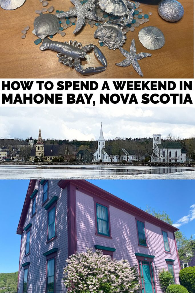 how to spend a weekend in mahone bay nova scotia pin