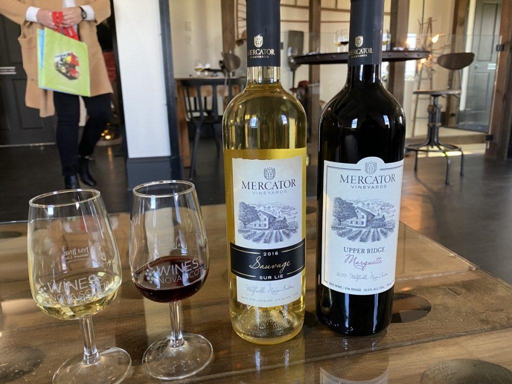 mercator vineyards wine in wolfville nova scotia