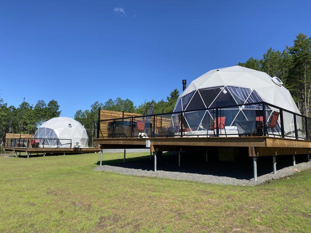 valley sky luxury camping domes in wolfville nova scotia Nova Scotia Explorer Anniversary Giveaway