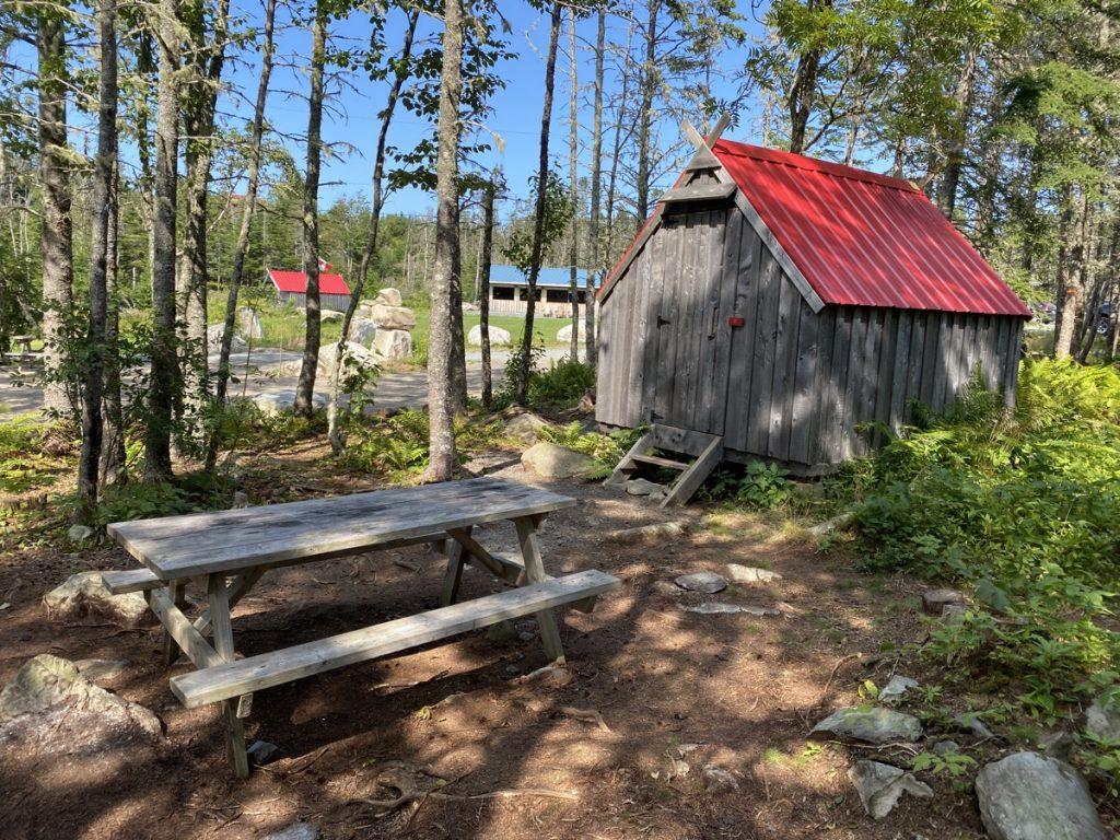 Norse Cove Camping campgrounds nordic hut micro cabin in tangier nova scotia