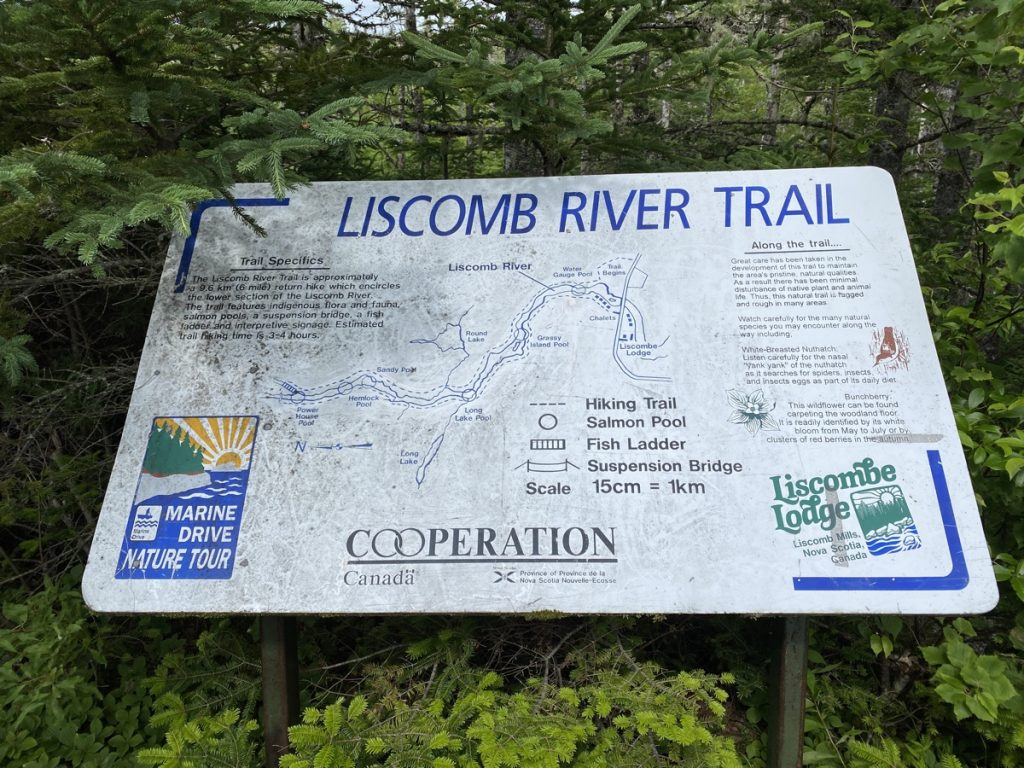 liscomb river trail map near liscombe river lodge
