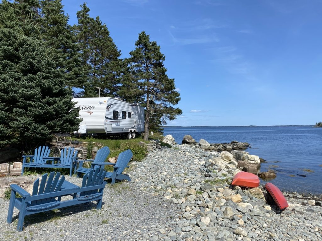 murphys on the ocean camping campgrounds in tangier nova scotia