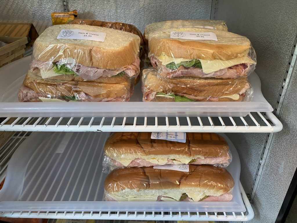 the best ham and cheese sandwiches at the hart general store in boylston nova scotia