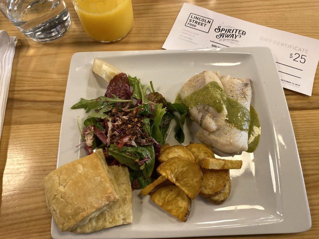 Lincoln Street food lunenburg nova scotia